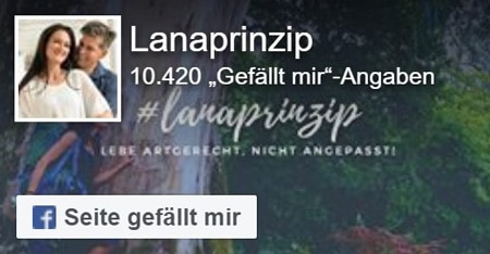 Social Media Kanal Lanaprinzip auf Facebook
