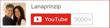 Social Media Kanal Lanaprinzip auf YouTube